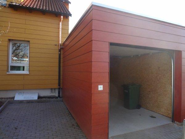 Neubau Garage